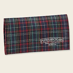 P&C Plaid Roll-Up Pouch