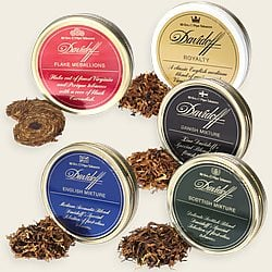 Davidoff Luxury Pipe Tobacco Sampler
