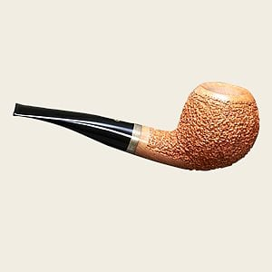 Pascucci Tan Rustic Apple  Artisan Pipe