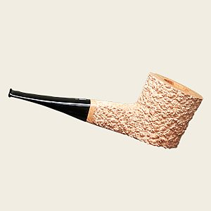 Jacono Rustic Knight E Natural Sitter  Artisan Pipe