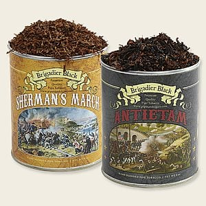 Brigadier Black Duo Sampler Pipe Tobacco Samplers