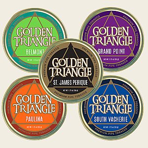 Golden Triangle Collection Pipe Tobacco