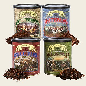 Brigadier Black Pipe Tobacco Sampler