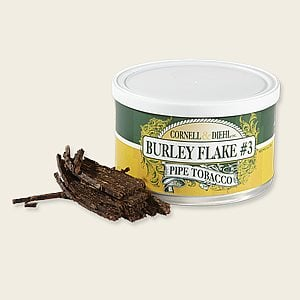 Cornell & Diehl Burley Flake No. 3 Pipe Tobacco