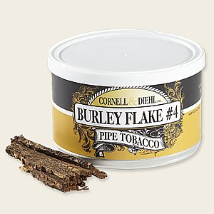 Cornell & Diehl Burley Flake No. 4 Pipe Tobacco