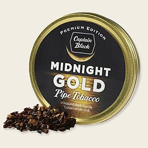 Captain Black Midnight Gold Pipe Tobacco