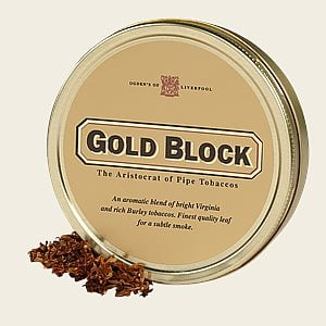 Gold Block Pipe Tobacco