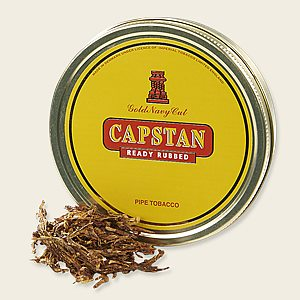 Capstan Gold Ready-Rubbed Packaged Pipe Tobacco