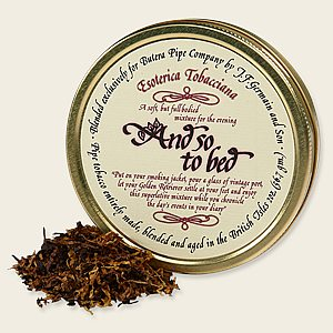 Esoterica And So To Bed Pipe Tobacco