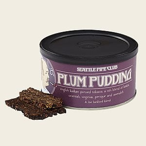 Seattle Pipe Club - Plum Pudding Pipe Tobacco