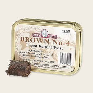 Samuel Gawith Brown No. 4 Kendal Twist Pipe Tobacco