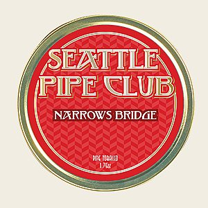 Seattle Pipe Club Narrows Bridge Packaged Pipe Tobacco