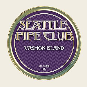 Seattle Pipe Club Vashon Island Packaged Pipe Tobacco