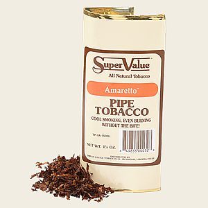 Super Value Amaretto Pipe Tobacco