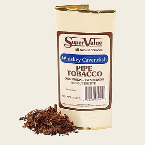 Super Value Whiskey Cavendish Pipe Tobacco