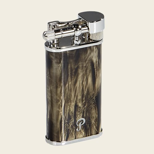 Peterson Grey Pipe Lighter - Pipes and Cigars